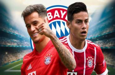 Coutinho liệu có thể thay thế thành công James ở Bayern?