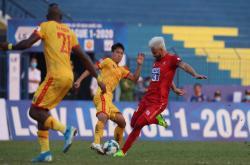 Thanh Hoá 0-1 Hải Phòng (Vòng 1 V-League 2020)
