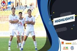 U18 Malaysia 0-1 U18 Thái Lan (U18 Đông Nam Á 2019)