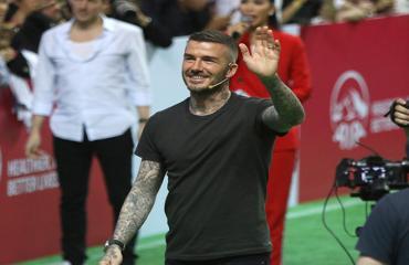 Huyền thoại David Beckham giao lưu tại TP.HCM
