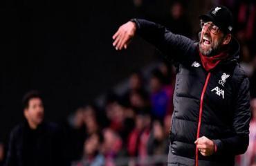 Klopp tố Atletico Madrid cố tình ăn vạ để Mane nhận thẻ đỏ