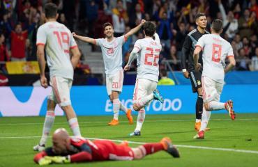 Tây Ban Nha 6-1 Argentina (Giao hữu Quốc tế 2018)