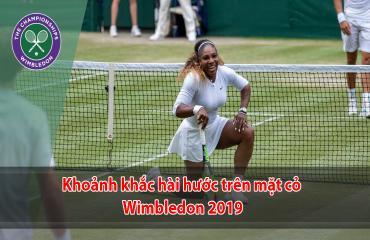 Những tình huống hài hước tại Wimbledon 2019
