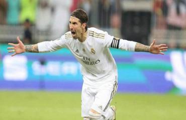 Ramos phải hủy kế hoạch đá penalty theo kiểu panenka