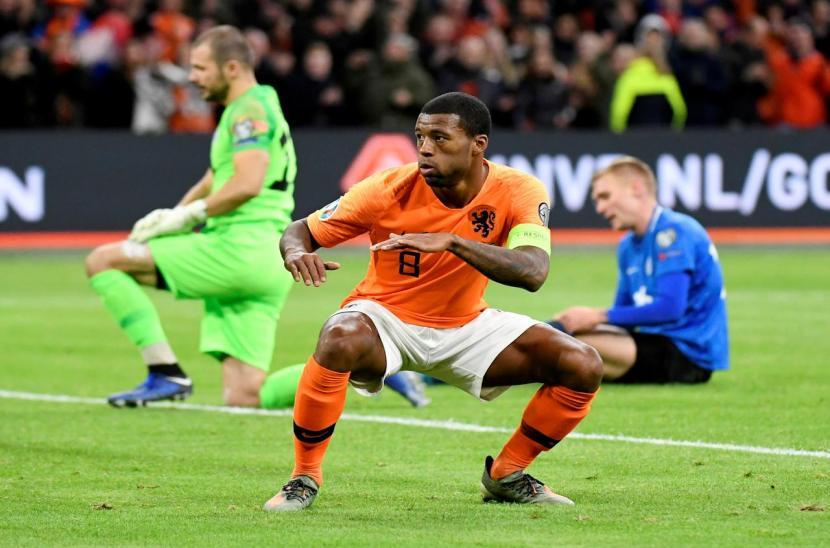 Hà Lan 5-0 Estonia (Vòng loại EURO 2020)