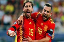 Romania 1-2 Tây Ban Nha (Vòng loại EURO 2020)