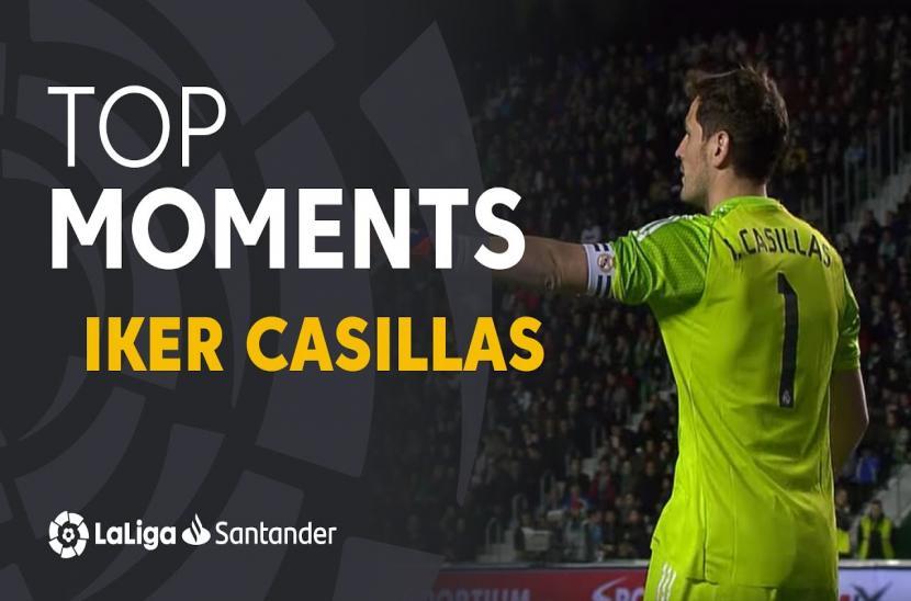 Ký ức La Liga: Iker Casillas