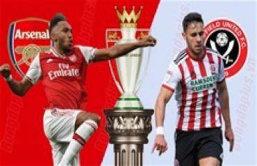 Arsenal vs Sheffield United, 22h00 ngày 18/1: Sức bật từ Emirates