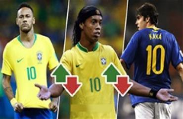 Đâu là 'số 10' hay nhất mọi thời của tuyển Brazil?