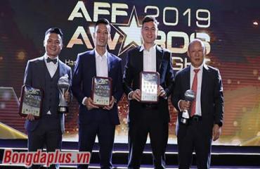 AFF Awards: Thái Lan ẵm nhiều giải nhưng Việt Nam mới xuất sắc