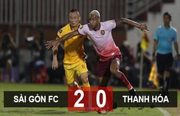 Sài Gòn FC 2-0 Thanh Hóa: Chủ nhà vui như tết