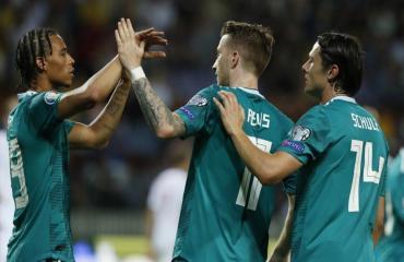 Belarus 0-2 Đức (Vòng loại Euro 2020)