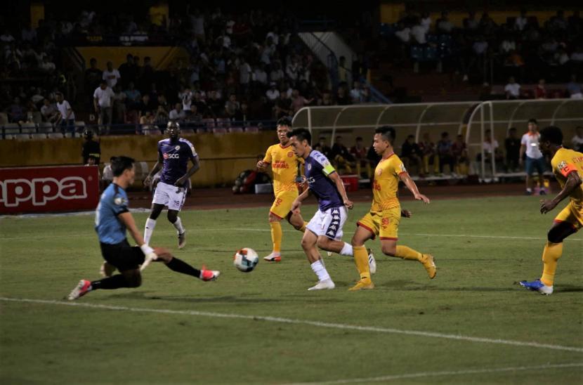Hà Nội FC 6-1 Nam Định (Vòng 22 V-League 2019 - Đá bù)