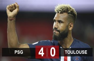 PSG 4-0 Toulouse: Cơn thịnh nộ của Nhà vua