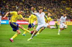 Thụy Điển 1-1 Tây Ban Nha (Vòng loại EURO 2020)