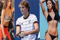 Nhan sắc cô bồ sexy với 3 vòng 'bốc lửa' của hoàng tử quần vợt Zverev