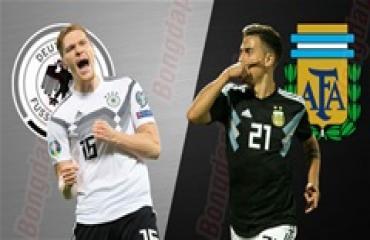 Đức vs Argentina, 01h45 ngày 10/10: Chờ tiệc bàn thắng