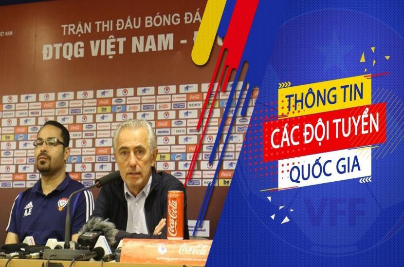 Họp báo sau trận đấu Việt Nam 1-0 UAE