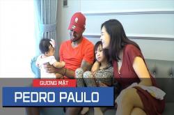 Pedro Paulo - Tiền đạo CLB Sài Gòn với cuộc sống hạnh phúc phía sau sân cỏ