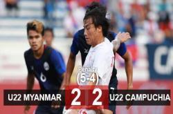U22 Myanmar 2-2 U22 Campuchia (pen 5-4): Campuchia vuột tấm huy chương đồng lịch sử
