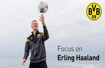 Chưa gì Dortmund đã lo mất Haaland