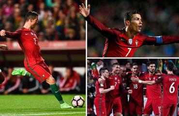 Bồ Đào Nha 3-0 Hungary (vòng loại World Cup 2018 - châu Âu)