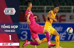 Tổng hợp vòng 1 V-League 2020