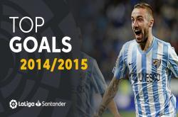 Bàn thắng đẹp mùa giải La Liga 2014/15