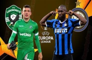 Ludogorets vs Inter Milan, 00h55 ngày 21/2: Cơ hội cho 'kép phụ'
