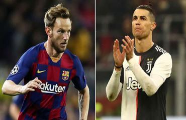 Rakitic hứng thú việc kiến tạo cho... Ronaldo ghi bàn
