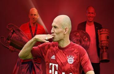 10 khoảnh khắc đáng nhớ của Robben trong 1 thập kỷ ở Bayern