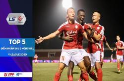 Top 5 điểm nhấn sau 2 vòng đầu tiên V.League 2020