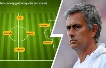 Mourinho chọn đội hình yêu thích nhất, fan M.U chắc chắn 'sôi máu'