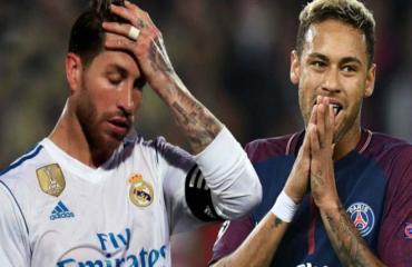 Cập nhật tối 19/7: Lukaku vắng mặt ở trận gặp Inter Milan. Neymar ca ngợi Sergio Ramos