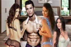 Bộ sưu tập người tình của gã 'Don Juan' Ronaldo