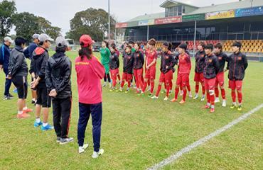 HLV Mai Đức Chung: 'Australia rất mạnh nhưng ĐT nữ Việt Nam cũng đã sẵn sàng'