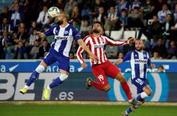 Alaves 1-1 Atletico (Vòng 11 La Liga 2019/20)