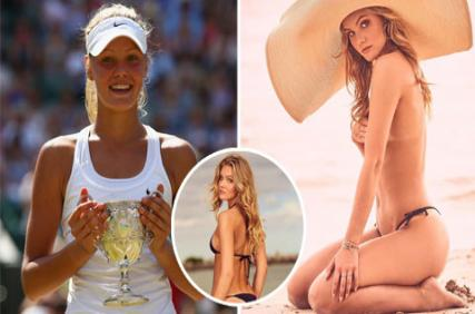Búp bê Nga 9X rẽ ngang làm người mẫu bikini