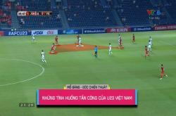 Phân tích hướng tấn công của U23 Việt Nam