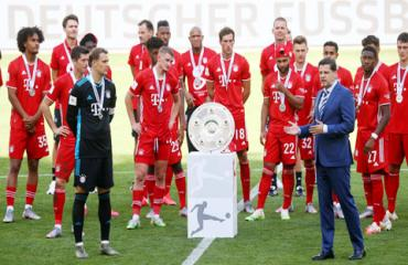 Chiến thắng của bóng đá Đức trước COVID-19