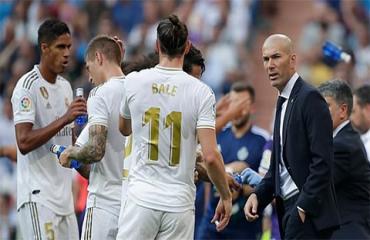 Zidane nổi điên vì Real mất điểm ngay tại sân nhà