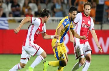 Ajax hòa thất vọng, Slavia Praha và Club Brugge giành lợi thế trên đất khách