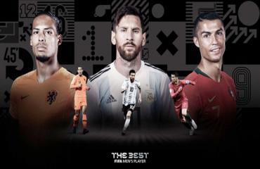 Ronaldo, Messi, Van Dijk lọt top 3 ứng viên cuối The Best 2019