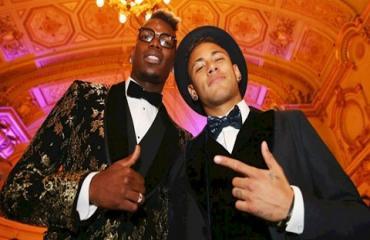 Tình bạn vượt khuôn khổ 'bóng đá' của Neymar & Pogba