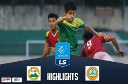 Long An 1-0 Bình Phước (Vòng 16 Hạng Nhất QG 2019)