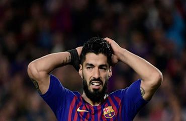 Suarez trải qua năm thứ 4 không ghi bàn trên sân khách ở Champions League