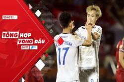 Tổng hợp vòng 25 V-League 2019