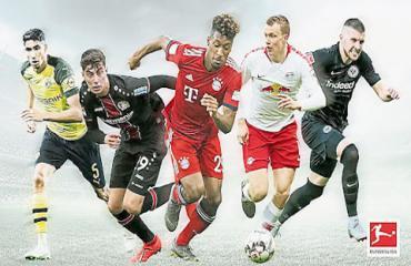 Bóng đá Đức sôi động trở lại… trên game
