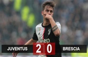 Juventus 2-0 Brescia: Không Ronaldo, sân khấu thuộc về Dybala