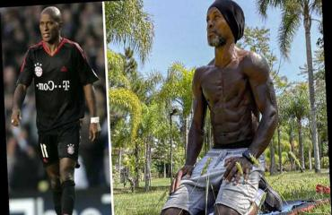 Cựu danh thủ Brazil Ze Roberto khoe cơ bắp cuồn cuộn ở tuổi 45